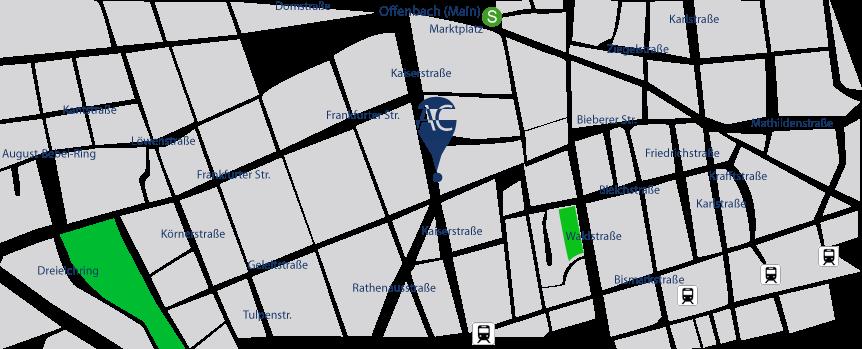 Offenbach am Main, bei Frankfurt am Main